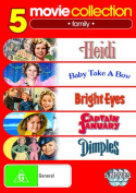 Heidi / Baby Take a Bow / Bright Eyes / Captain January / Dimples  [5 Discs]