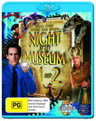 Night at the Museum / Night at the Museum 2  [2 Discs] [Region B] [Blu-ray]