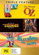 The Goonies / The Wizard of Oz (1939) / Willy Wonka and the Chocolate Factory