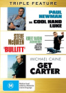 Bullitt / Cool Hand Luke / Get Carter