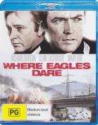 Where Eagles Dare [Region B] [Blu-ray]