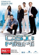 CSI Miami Complete Season 1  [6 Discs] [Region 4]
