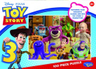 "Toy Story 100 Piece Puzzle<br />""Don't Toy With Us"""