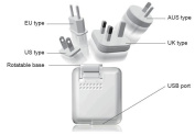 Opti-UPS USB Travel Charger