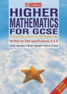 Higher Mathematics for GCSE (Mathematics for GCSE)
