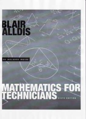 mathematics for technicians blair alldis pdf