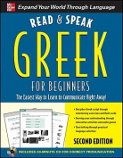 Read and Speak Greek for Beginners with Audio CD, 2nd Edition