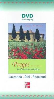 DVD to Accompany Prego! an Invitation to Italian