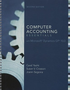 Computer Accounting Essentials with Microsoft Dynamics GP 10.0