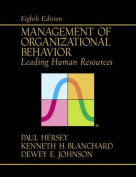 Management of Organizational Behaviour