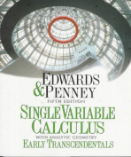 Single Variable Calculus with Analytic Geometry Early Transcendentals