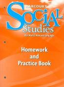 Harcourt Social Studies Homework and Practice Book, Grade K