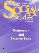 Harcourt Social Studies Homework and Practice Book, Grade 1