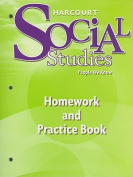 Harcourt Social Studies People We Know, Homework and Practice Book, Grade 2