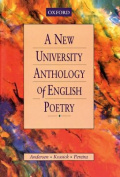 A New University Anthology of English Poetry