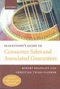Blackstone's Guide to Consumer Sales and Associated Guarantees