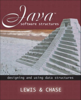 Java Software Structures: Designing and Using Data Structures