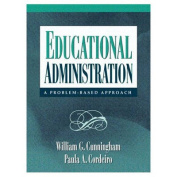 Educational Administration:a Problem-Based Approach
