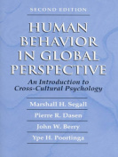 Human Behavior in Global Perspective
