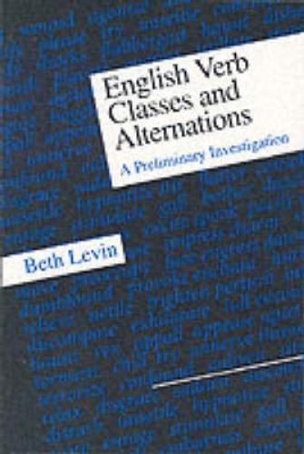 levin s verb classes and alternations [beth levin] english verb classes and alternations uploaded by mozkbron rating and stats 00 (0) s nj nj % nj nj njpgnj i nj dnj nj nj d nj nj.