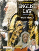Smith and Keenan's English Law