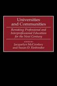 Universities and Communities