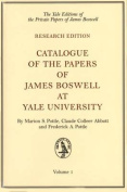 Catalogue of the Papers of James Boswell at Yale University