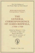 The General Correspondence of James Boswell, 1766-1769