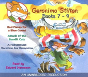 Geronimo Stilton: Books 7-9: #7: Red Pizzas for a Blue Count; #8 [Audio]
