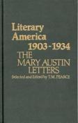 Literary America, 1903-34