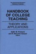 Handbook of College Teaching