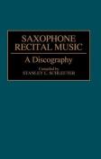 Saxophone Recital Music