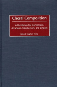 Choral Composition