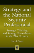 Strategy and the National Security Professional