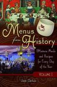 Menus from History, Volume 1 & 2