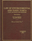 Madden's Law of Environmental and Toxic Torts