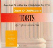 Finz's Sum & Substance Audio on Torts, 3D  [Audio]