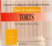Finz's Sum & Substance Audio on Torts, 3D  [Audio]