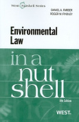 Environmental Law in a Nutshell (In a Nutshell