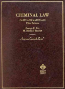 Criminal Law Case Material 5th