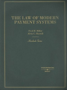 Law of Modern Payment Systems and Notes