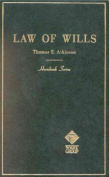 Atkinson Handbk Law of Wills