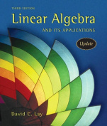 Linear Algebra and Its Applications [With CDROM]