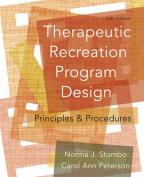 Therapeutic Recreation Program Design