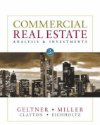 Commercial Real Estate Analysis & Investments [With CDROM]