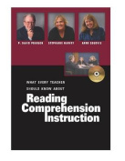 What Every Teacher Should Know About Reading Comprehension Instruction [Audio]