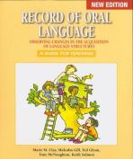 Record of Oral Language