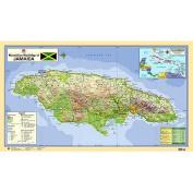 Macmillan Wall Map of Jamaica