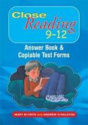 Close Reading 9-12
