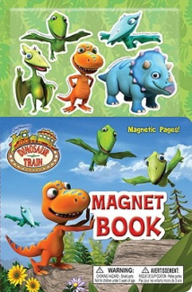Dinosaur Train Magnet Book [With 5 Dinosaur Magnets] [Board Book]